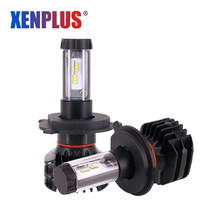 Super Bright Car Headlight H4 H7 LED H8 H11 Bulb 10000K 3000K 4300K Fog Light 9000LM 12V ZES H13 HB3 HB4 9004 9005 9006 9007(China)