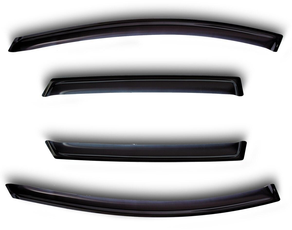 Deflectors for Mitsubishi Outlander XL 2007-1 set \ 4 PCs Styling wind Window Deflector Protection Auto vent козыр автодержатель griptight auto vent clip xl