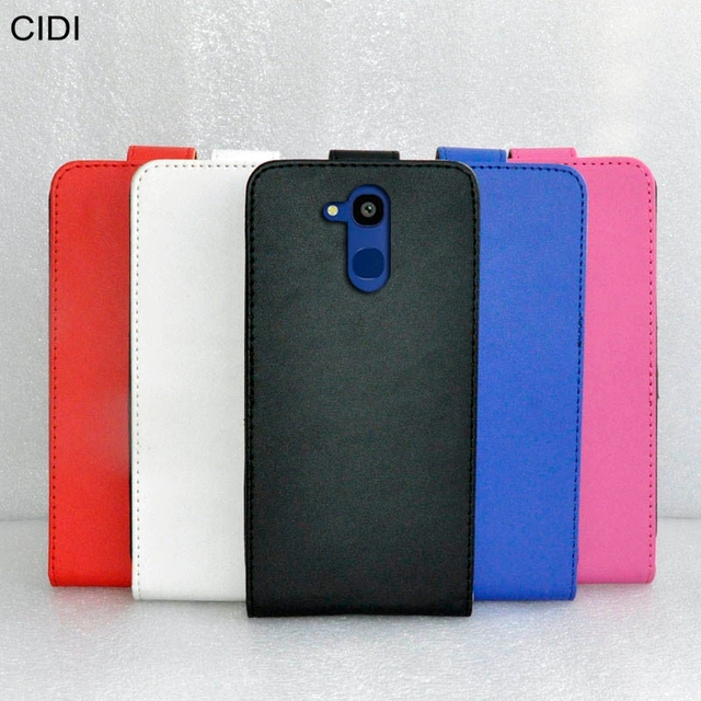CIDI For Vernee M5 Case Cover PU Leather Flip Flap Up and Down / Silk Pattern Protective Phone Cases For Vernee M5 Phone