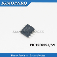 цена на Free shipping 10pcs/lot 8-bit Flash microcontroller PIC12F629-I / SN PIC12F629 12F629 SOP8 new original
