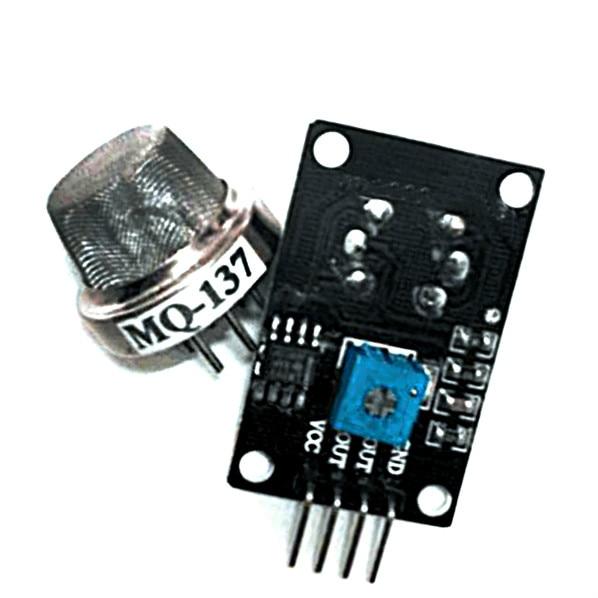 Free shipping 1PCSx MQ137 MQ-137 Ammonia Detection Sensor NH3 Gas Sensor Module