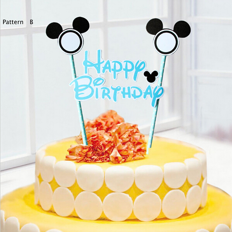 Aliexpresscom Buy 1set Cake Topper for Kids Happy Birthday