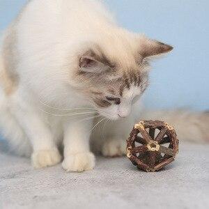 Игрушки для кошек мататаби игрушки палочки с кошачьим мячом органическое натуральное растение мататаби серебрянная кошка чистка зубов жевательная игрушка