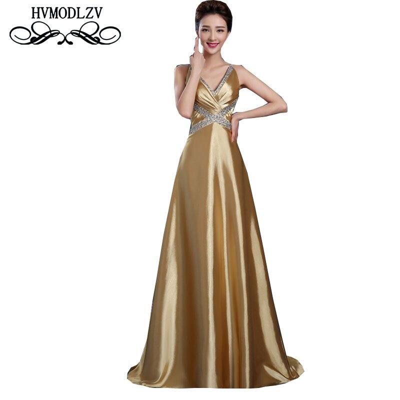 Новое летнее женское вечернее платье 2017 длинное платье для дня рождения сексуальное платье модератор удобное Золотое Платье ls180