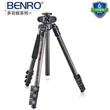 New BENRO C2980F multifunction series carbon fiber tripod tripod for macro transverse axis+ Carrying Bag Kit, Max loading 12kg цена