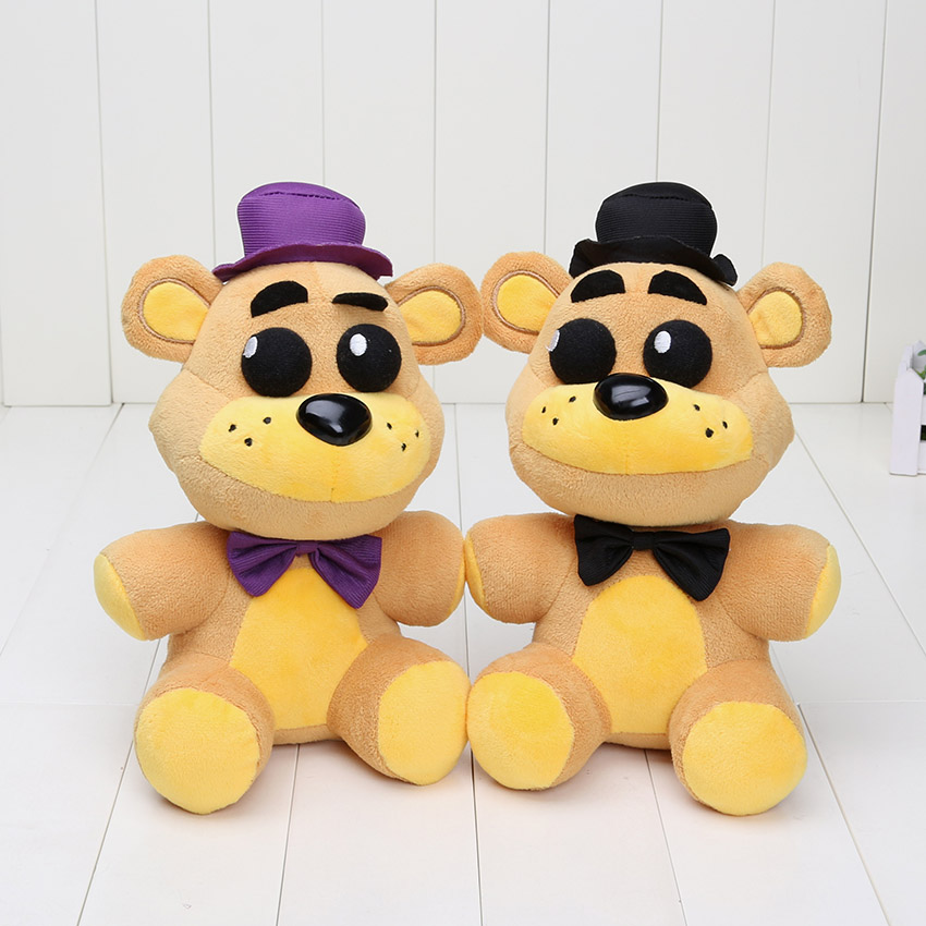 In Stock 25cm FNAF Five Nights At Freddy's Plush Toys Nightmare Fredbear Golden Freddy Fazbear Stuffed Toys Doll