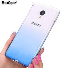 Для Meizu M3 мини 5.0 «meilan 3 S Ударопрочный Градиент Прозрачный мягкий Чехол Для Meizu М3 мини ультратонкий мобильный задняя крышка