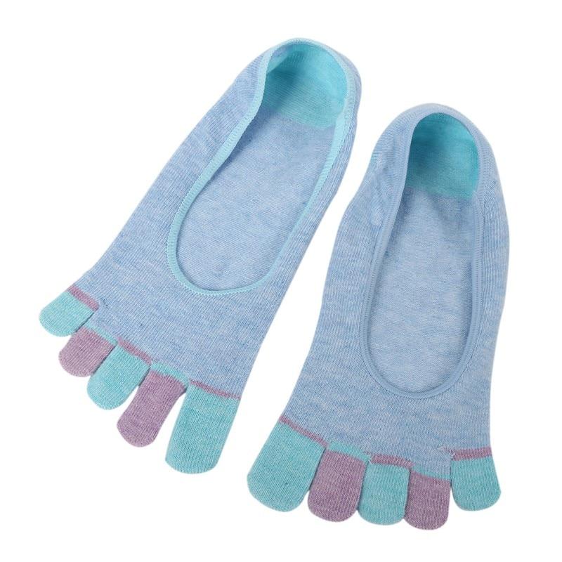 Vogue Women Ladies Low Cut Crew Ankle Socks Cute Five Finger Toe Hosiery Socks