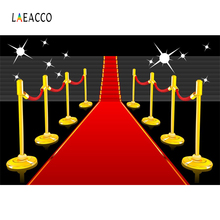 Laeacco Baby Red Carpet Stage Staircase Glitter Shining Light Photo Background Customized Photography Backdrops For Studio