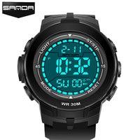 Men's SANDA LED Digital Watch Men 2018 Military Sport Wrist Watches Top Brand Luxury Famous Male Clock Relogio Masculino Hodinky