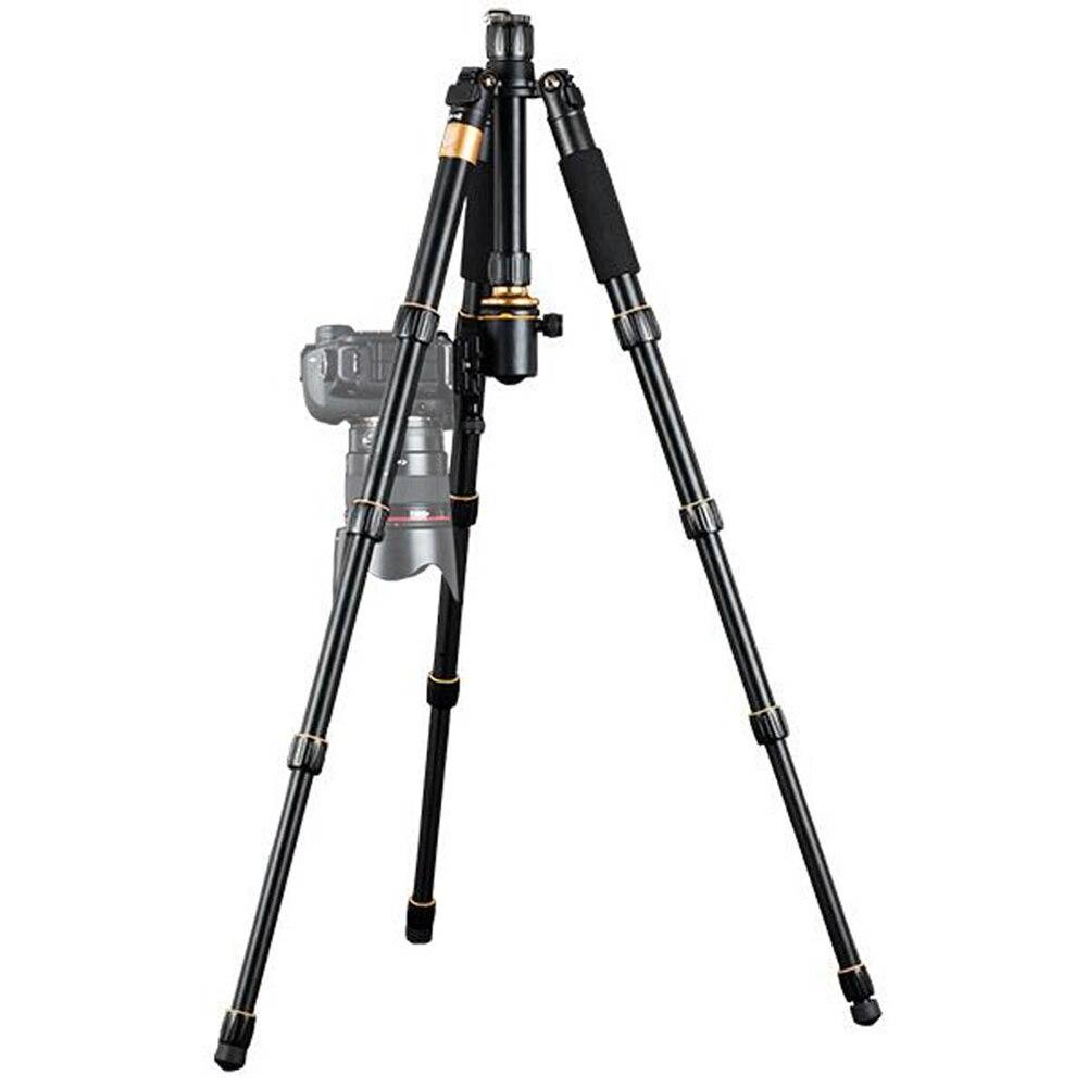 Portable Tripod Professional Photographic Lightweight Tripod Monopod with Ball Head for Canon Nikon DSLR Camera