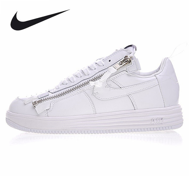 finest selection 901f8 bc37a Nike Lunar Force 1 NikeLab X Acronym Men s Basketball Shoes,Original  Sneakers Men s Air Force 1 Shoes,All White Color AJ6247-100