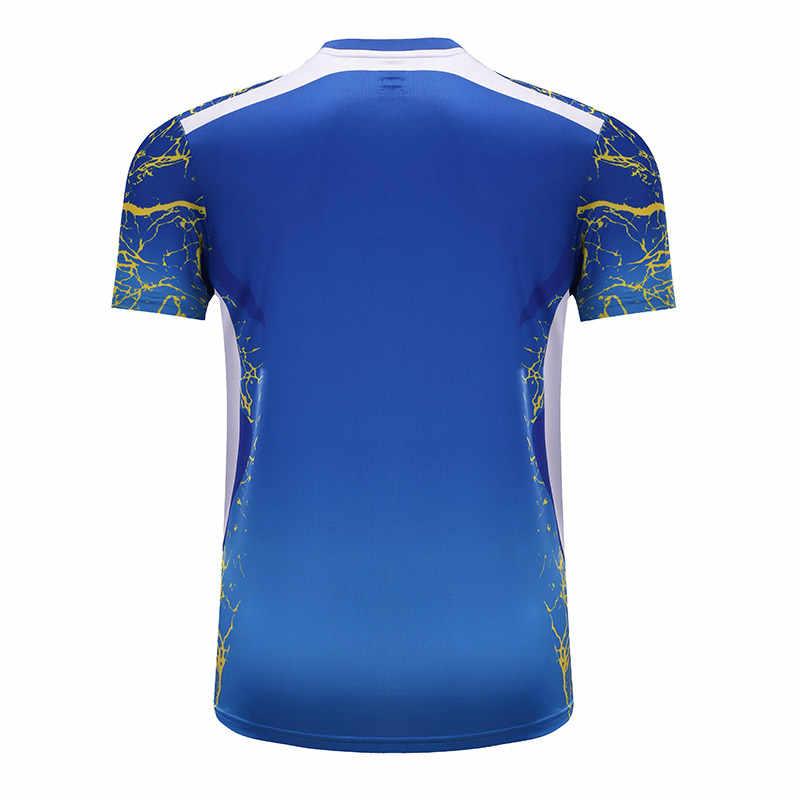 Новая быстросохнущая одежда для бадминтона, Спортивная рубашка, теннисные майки, теннисная рубашка Мужская/Женская, рубашка для настольного тенниса 3887