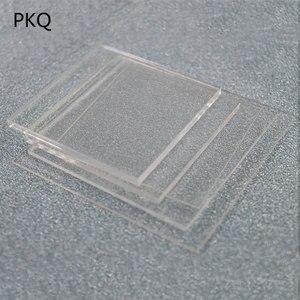 1-2mm Thickness Mini Clear Acrylic Perspex Plexiglass Transparent Board Perspex Panel 2x2cm/3x3cm/4x4cm/5x5cm Acrylic sheet 10pc