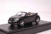 1 43 Diecast Model Car For Volkswagen VW Beetle Cabriolet Black Alloy Toy Car Collection