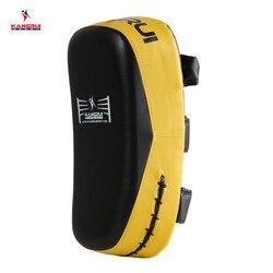 Najlepiej sprzedający się ze skóry PU Taekwondo MMA boks kopanie wykrawania Pad TKD sprzęt treningowy Sanda/walki/Muay tajski stóp cel nowy 2