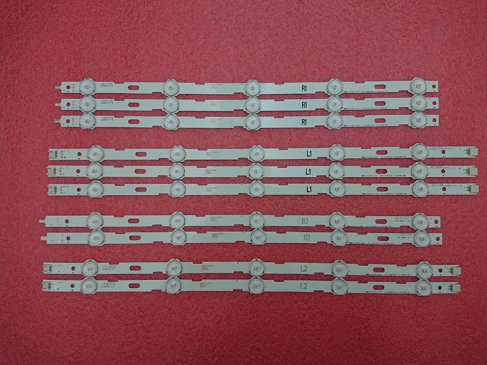 New Kit 10 PCS LED Backlight Strip Replacement For LG 42LN5200 42