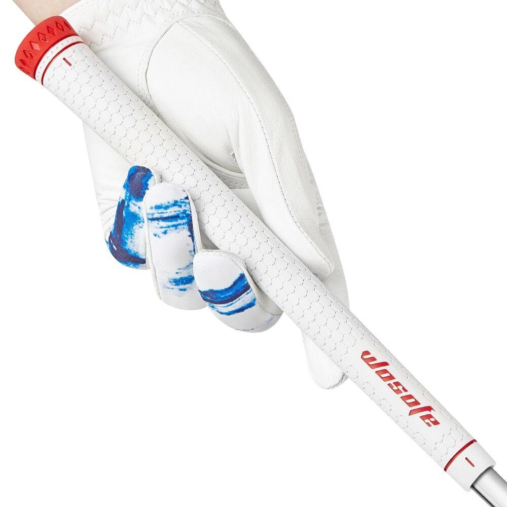 高 品質のゴルフクラブグリップ白超軽量ゴムグリップゴルフアイアン木製グリップ -    グループ上の スポーツ