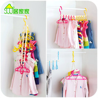 10 Clothes Pegs Clothing Clips Folding Adult Child Slip Resistant Hanger Windproof Plastic Baby PP Racks