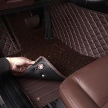 Custom Car floor Mats for Hyundai All Models ix30 35 25 accent tucson 2016 Elantra MISTRA GrandSantafe auto mats