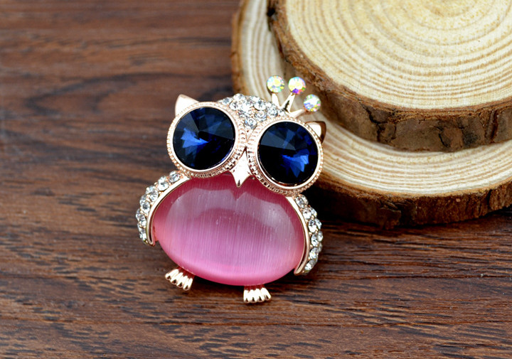 opal owl brooches 4
