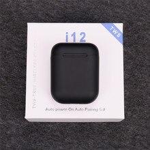 I12 TWS беспроводные наушники Bluetooth 5,0 сенсорные наушники i7s i10 i20 tws i11 i30 i60 i80 наушники для iphone Xiaomi huawei samsung
