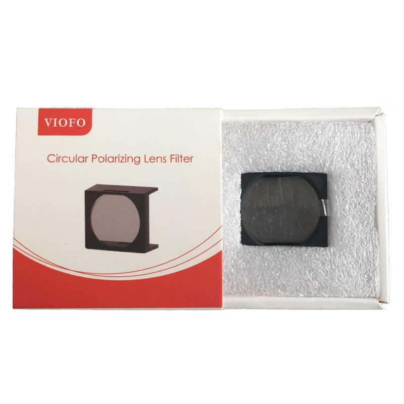CPL фильтр крышка объектива круговых поляризационных фильтров для Viofo A129/A129 Duo/A119S A119 A118C2 Видеорегистраторы для автомобилей Dashcam Даш Камера