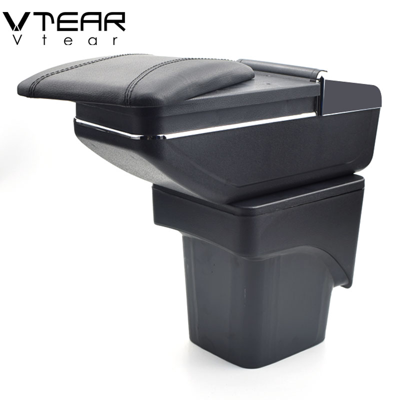 Vtear For Ford Focus 2 armrest box central Store mk2 content box products font b interior