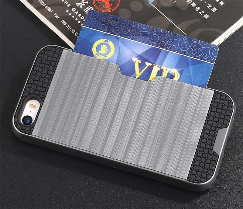 Vendita c aldaอัลตร้าบางอลูมิเนียมโลหะ+วาดลวดปกหลังกรณีสำหรับแอปเปิ้ลiPhone 5 5วินาทีSE 5กรัมสำหรับipone iโทรศัพท์aifon ifon