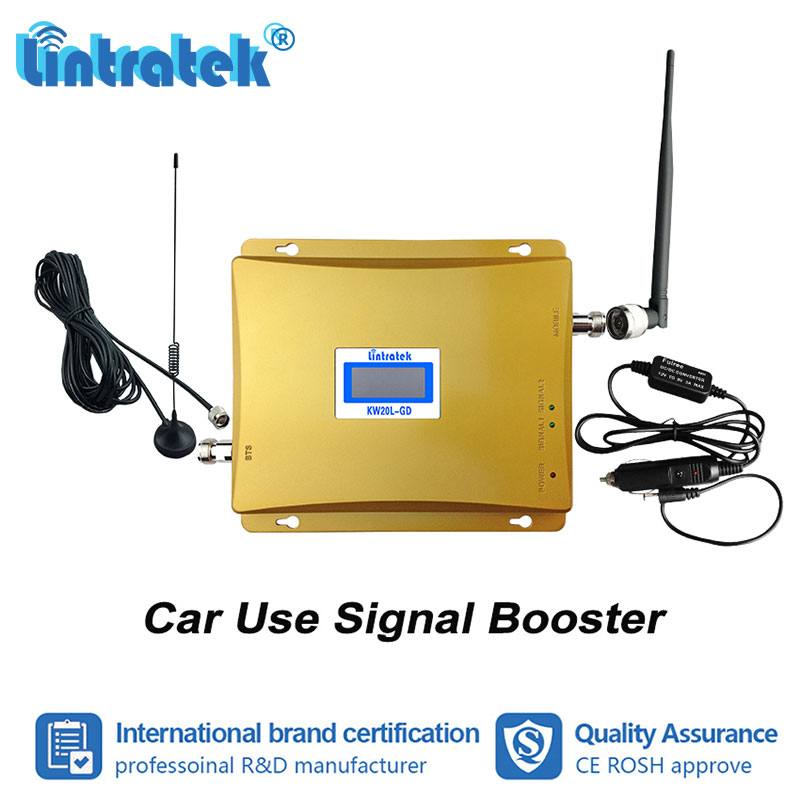 Lintratek Car Use GSM 900 1800mhz Double Band Mobile Phone Signal Booster Repeater 2G Voice Call 900 1800 Amplifier Full Kit #4Lintratek Car Use GSM 900 1800mhz Double Band Mobile Phone Signal Booster Repeater 2G Voice Call 900 1800 Amplifier Full Kit #4