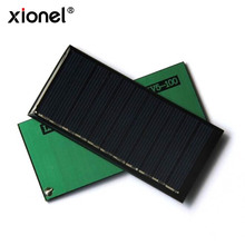 Xionel 80X25MM 5.5V 90mA Mini Solar Panels High Efficiency DIY Solar Panel