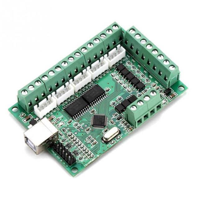 Mach3 placa de interface usb mach3 cartão de controle de movimento placa de interface usb para máquina gravura cnc controlador