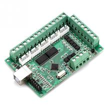 Placa de interfaz USB MACH3 Tarjeta de Control de movimiento, placa de interfaz USB para máquina de grabado, controlador CNC