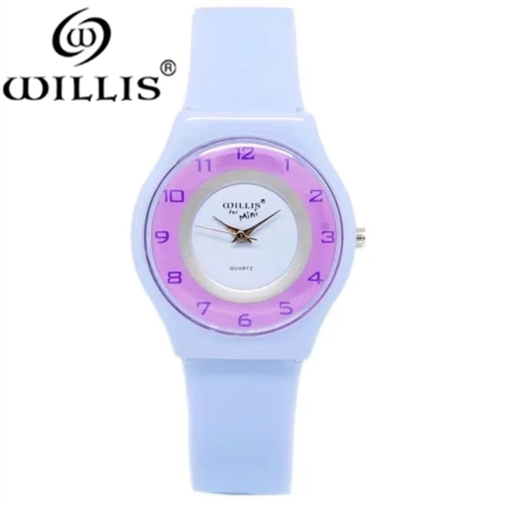 WILLIS Brand quality Brand Fashion Simple Candy Color Casual Quartz Watch Men Women Watches Silicone Sport Wristwatches 7 colors high quality waterproof kids silicone wristwatches football brand quartz wrist watch baby for girls boys fashion casual