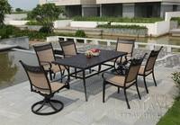5 Piece Cast Aluminum Patio Furniture Outdoor Furniture Transport By Sea