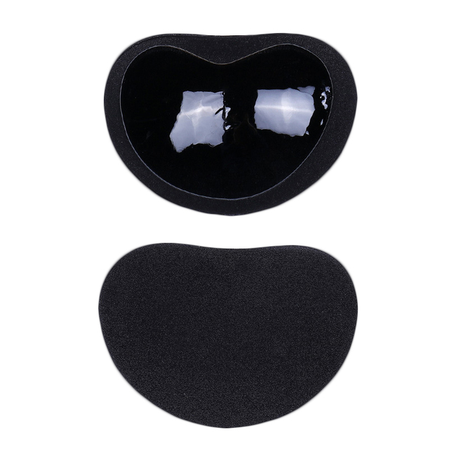 1Pair Invisible Heart Padding Magic Bra Insert Pads Push Up Silicone Bra Adhesive Breast Enhancer For Women Bra 2
