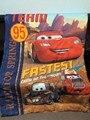 Cama produto menino do bebê colcha de carro padrão dos desenhos animados crianças cobertor colcha