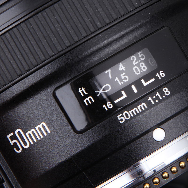 Galleria fotografica YONGNUO YN 50mm F1.8 Standard Premier Objectif de la Caméra Mise Au Point Automatique Grand ouverture pour Nikon DSLR pour Canon EOS 60D 70D 5D2 5D3