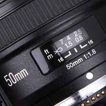 YONGNUO YN 50 мм F1.8 Стандартный премьер Камера объектив Автофокус большой апертурой для цифровых зеркальных фотокамер Nikon для Canon EOS 60D 70D 5D2 5D3