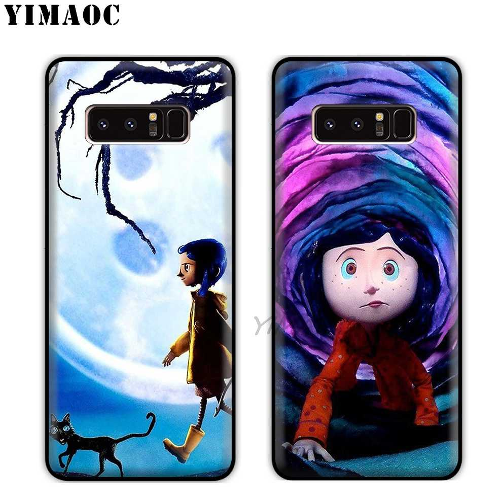 YIMAOC Coraline movie Ultra Thin Soft Silicone Case for Samsung Galaxy A9  A8 A6 Plus 2018 A5 A3 2017 2016 Note 9 8