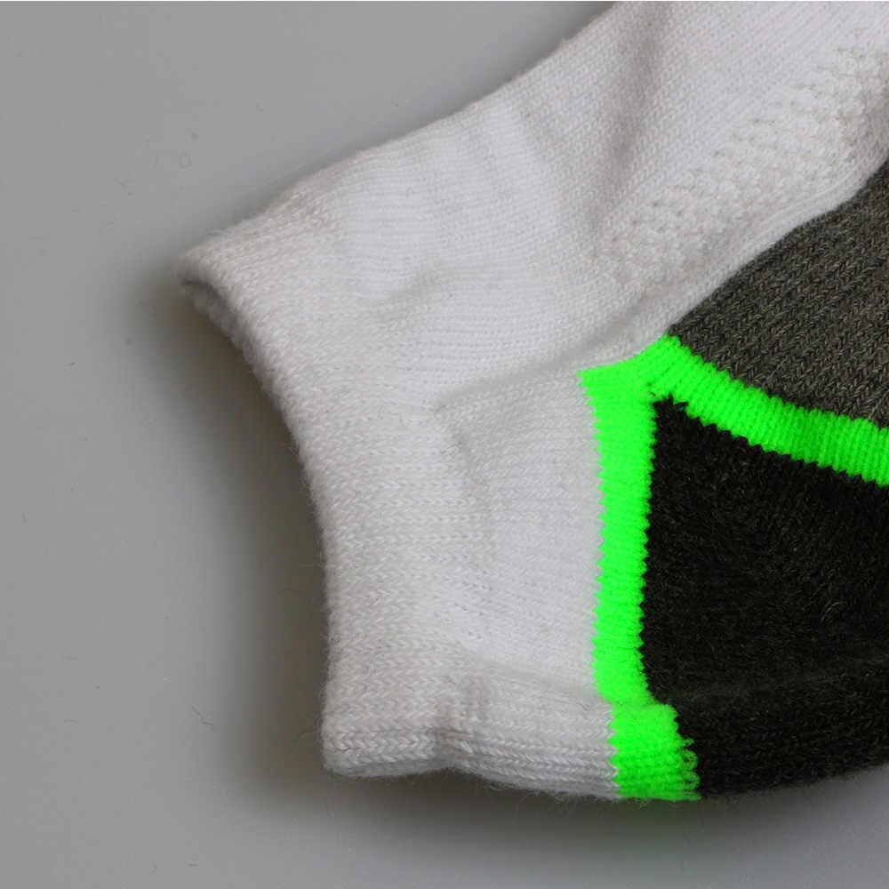 123e9cca69f ... 3Pairs Lot 85% Cotton High Elastic Men Running Socks Soft No Grinding  Feet Sports