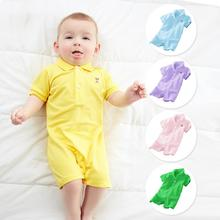 2017 summer baby rompers,baby boys girls overall, 100% cotton jumpsuits, 3M- 24M bebes clothing vestido infantil clothes