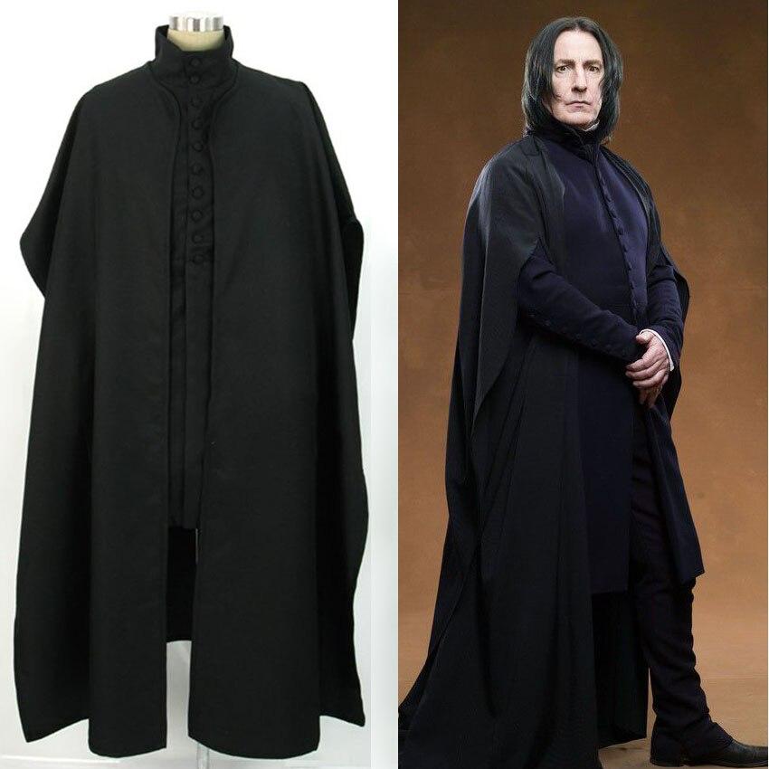 Школьный костюм для косплея «Хогвартса», «Severus Snape»