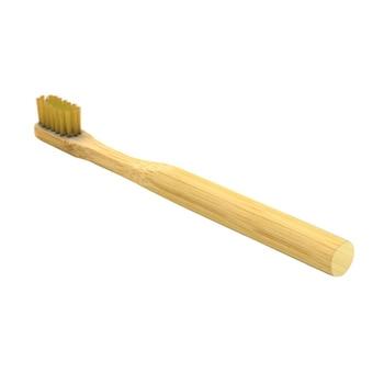 Dark Gold Bamboo Toothbrush