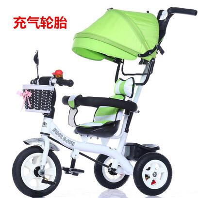 Child tricycle trolley 1 - 3 - 5 years old bike baby bicycle baby car