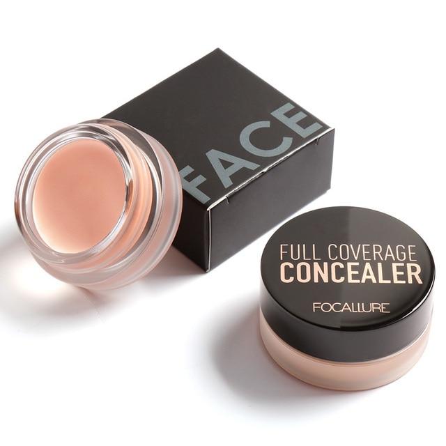 Primer Face Eye Cream Correcteur Make Up Bronzer Contour 3D Face Brand Focallure Anti Cernes Correcteur Cover Cache Cernes 2