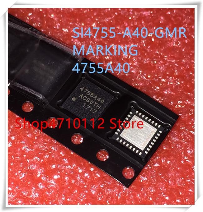 NEW 5PCS/LOT SI4755-A40-GMR SI4755-A40 SI4755 MARKING 4755A40 QFN-32 IC