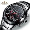 2018 New Watches Men Luxury Brand AESOP Waterproof Shockproof Ceramic Men Sports Watches Full Steel Quartz
