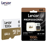 Lexar 150MB/s 1000x TF 64GB 128G memory micro sd/TF cards 32GB USB 3.0 Reader UHS II for Drone Gopro Hero Sport Camcorder