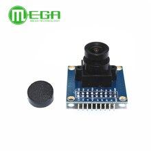 C2-01 Free Shipping OV7670 camera module Supports VGA CIF auto exposure control display active size 640X480